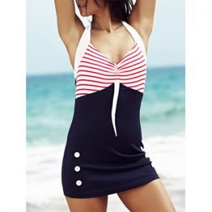 Red, white and blue swimdress