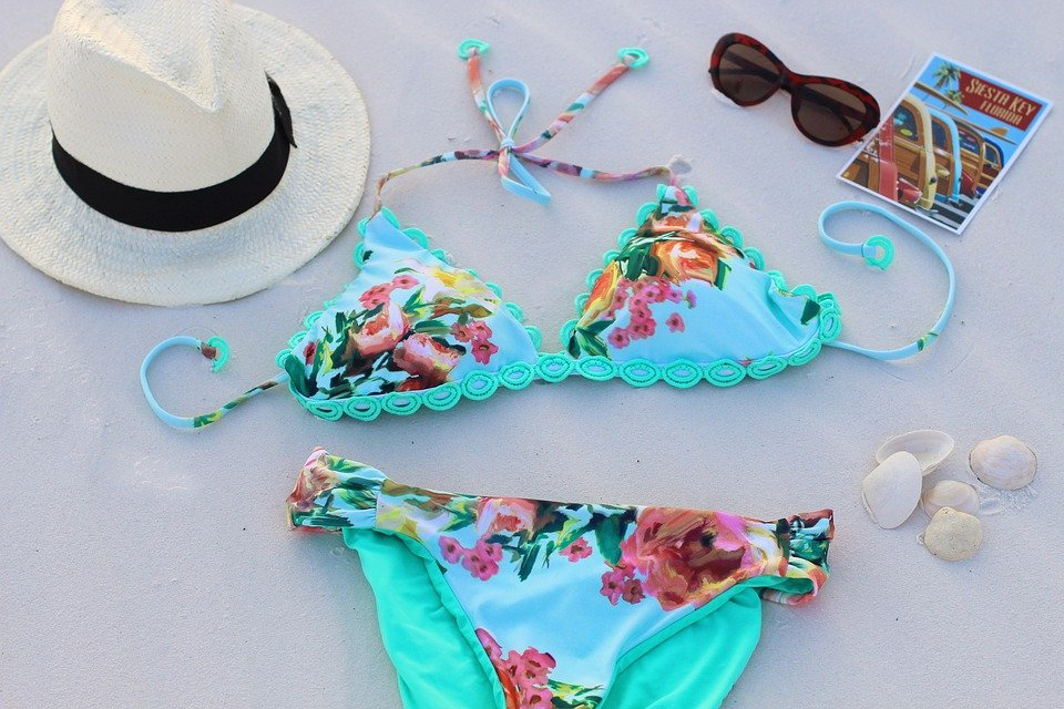 Bikini and beach items